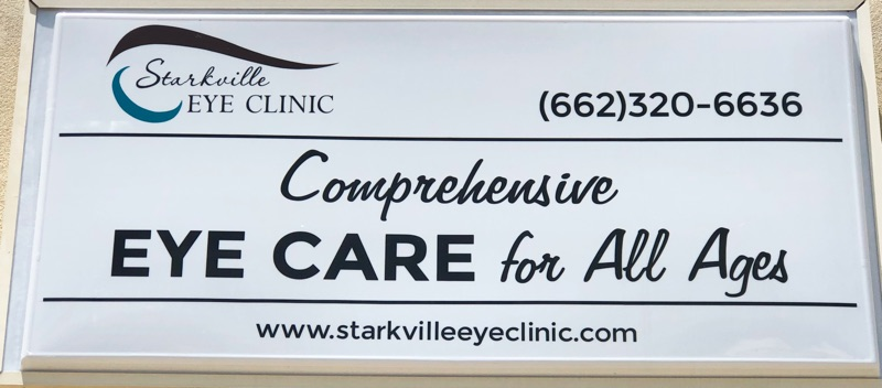 Starkville Eye Clinic - lighted building sign